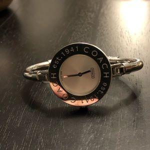 Coach women's stainless steel watch